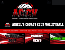 Tablet Preview of airellscourtsclubvolleyball.org